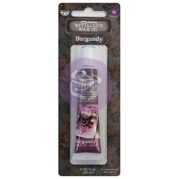 Prima Marketing BURGUNDY Finnabair Art Alchemy Metallique Wax 968373