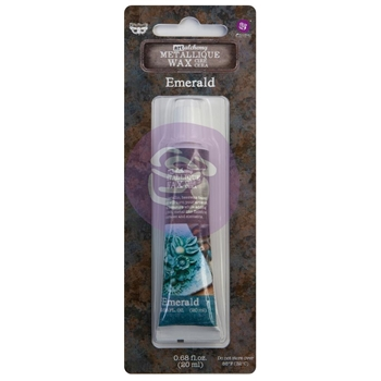 Prima Marketing EMERALD Finnabair Art Alchemy Metallique Wax 968397