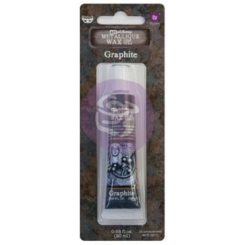 Prima Marketing GRAPHITE Finnabair Art Alchemy Metallique Wax 968403