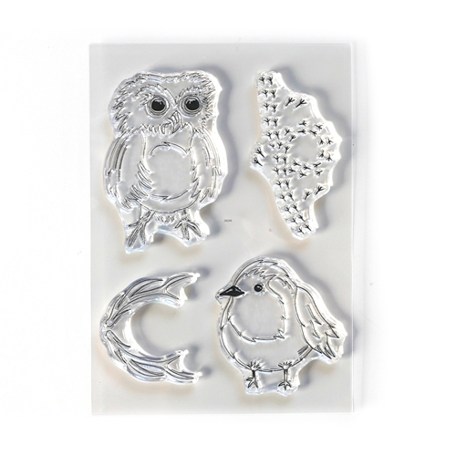 Elizabeth Craft Designs Clear Stamps BIRD SONG cs210* Preview Image