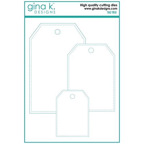 Gina K Designs TAG TRIO Die Set 7160 Preview Image