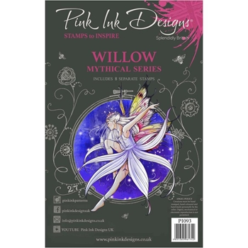 Pink Ink Designs WILLOW A5 Clear Stamps pi093