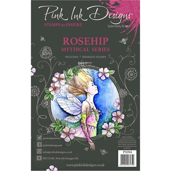 Pink Ink Designs ROSEHIP A5 Clear Stamps pi094