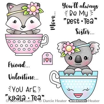 Darcie's BESTEA Clear Stamp Set pol482