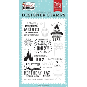Echo Park WISHES COME TRUE Clear Stamps mbb232042