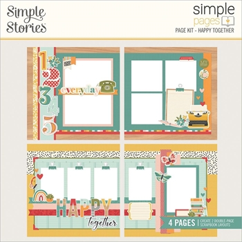 Simple Stories HAPPY TOGETHER Page Kit 14430