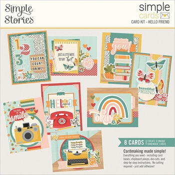 Simple Stories HELLO FRIEND Card Kit 14431
