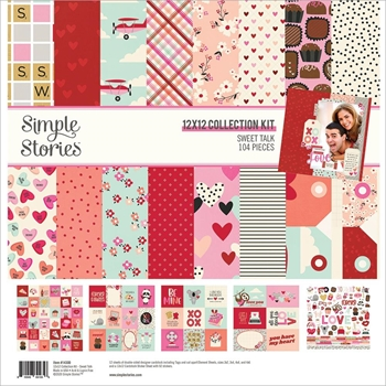 Simple Stories SWEET TALK 12 x 12 Collection Kit 14300