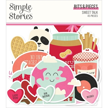 Simple Stories SWEET TALK Bits And Pieces 14316