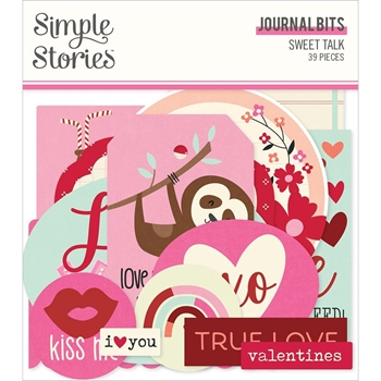 Simple Stories SWEET TALK Journal Bits And Pieces 14317