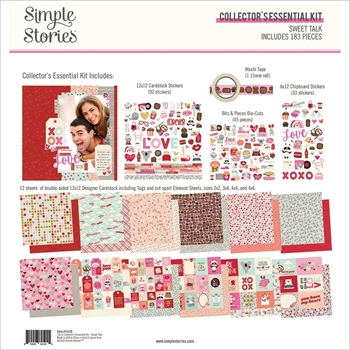 Simple Stories SWEET TALK 12 x 12 Collector's Essential Kit 14326