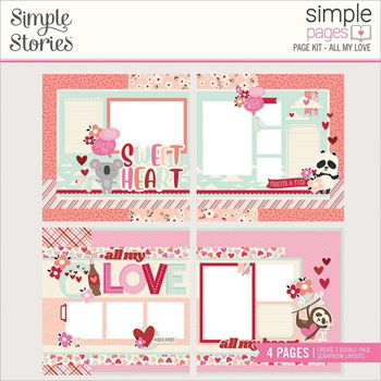 Simple Stories ALL MY LOVE Page Kit 14327