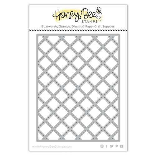 Honey Bee QUILTED A2 COVERPLATE Dies hbdsqa2c Preview Image