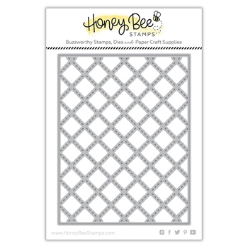 Honey Bee QUILTED A2 COVERPLATE Dies hbdsqa2c