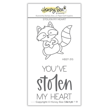 Honey Bee STOLEN MY HEART Clear Stamp Set hbst315