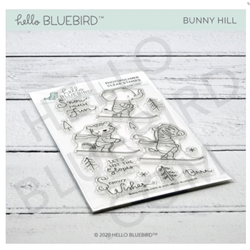 Hello Bluebird BUNNY HILL Clear Stamps hb2303