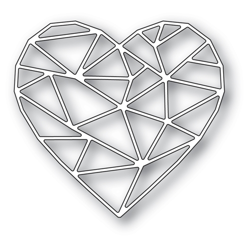 Memory Box CRYSTAL HEART Craft Die 94517 Preview Image