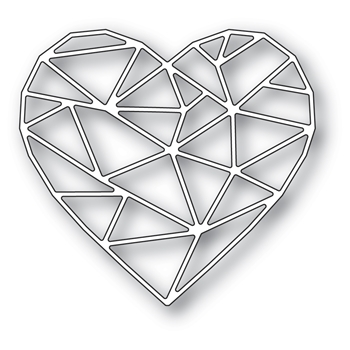 Memory Box CRYSTAL HEART Craft Die 94517