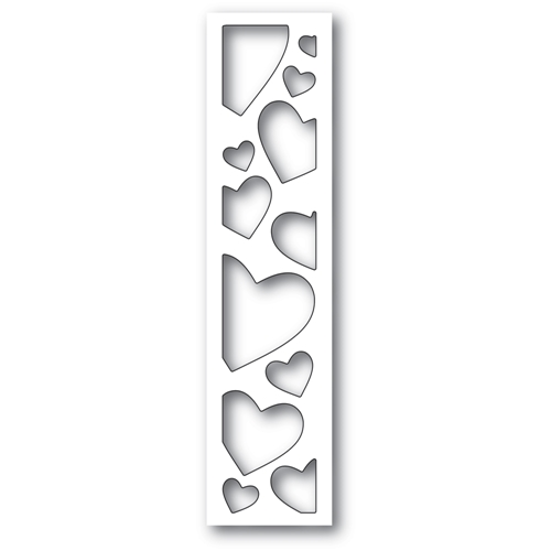 Memory Box SPRINKLE HEART COLLAGE Craft Die 94548 Preview Image