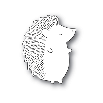 Poppy Stamps BIG HEDGEHOG RIGHT Craft Die 2382