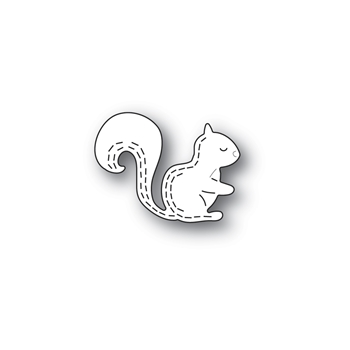 Poppy Stamps WHITTLE FOREST SQUIRREL Craft Die 2431