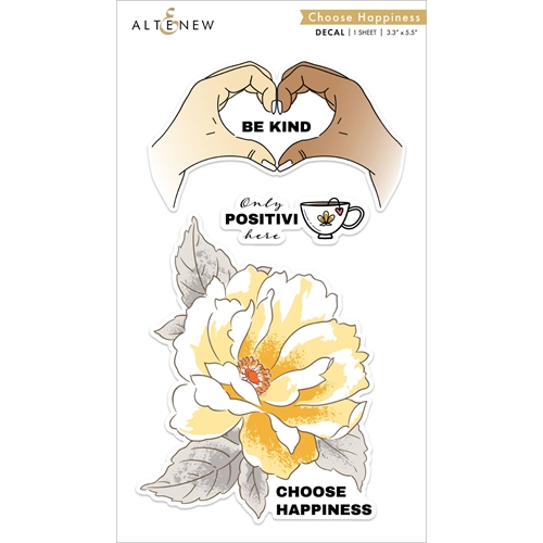 Altenew CHOOSE HAPPINESS Decal Set ALT4780* Preview Image