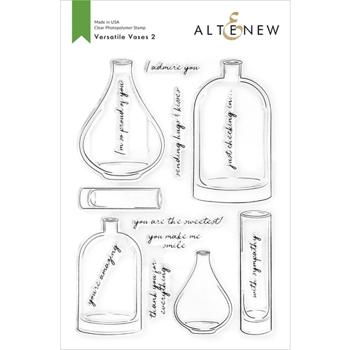Altenew VERSATILE VASES 2 Clear Stamps ALT4764 Preview Image