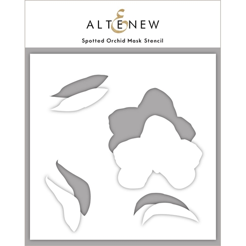 Altenew SPOTTED ORCHID Mask Stencil ALT4761 Preview Image