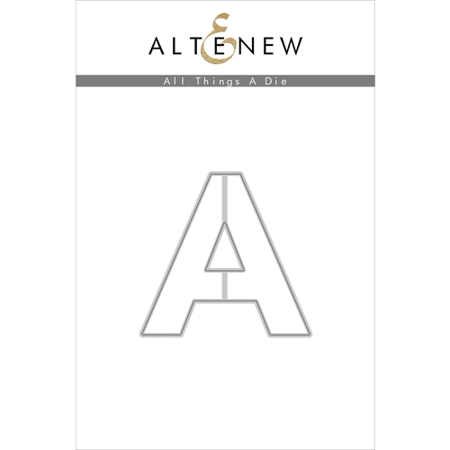 Altenew ALL THINGS LETTER A Die ALT4753 Preview Image