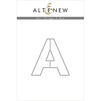 Altenew ALL THINGS LETTER A Die ALT4753