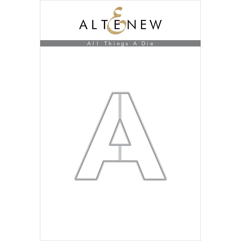 Altenew ALL THINGS LETTER A Die ALT4753 zoom image