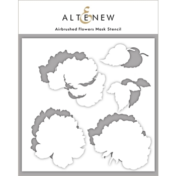 Altenew AIRBRUSHED ANEMONE FLOWERS Mask Stencil ALT4749