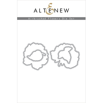 Altenew AIRBRUSHED ANEMONE FLOWERS Dies ALT4748