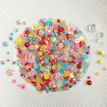 Little Things From Lucy's Cards Crystal Collection FAIRYTALE Sparkly Shaker Mix LB356