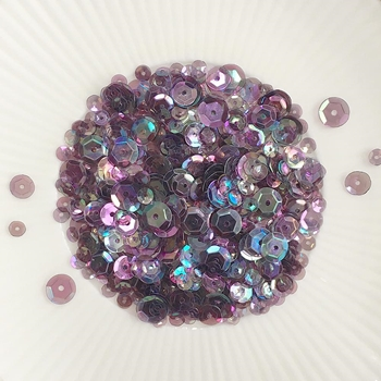Little Things From Lucy's Cards AMETHYST Sequin Mix LBSM66