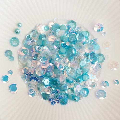Little Things From Lucy's Cards SHALLOWS Sequin Shaker Mix LBSM68 Preview Image
