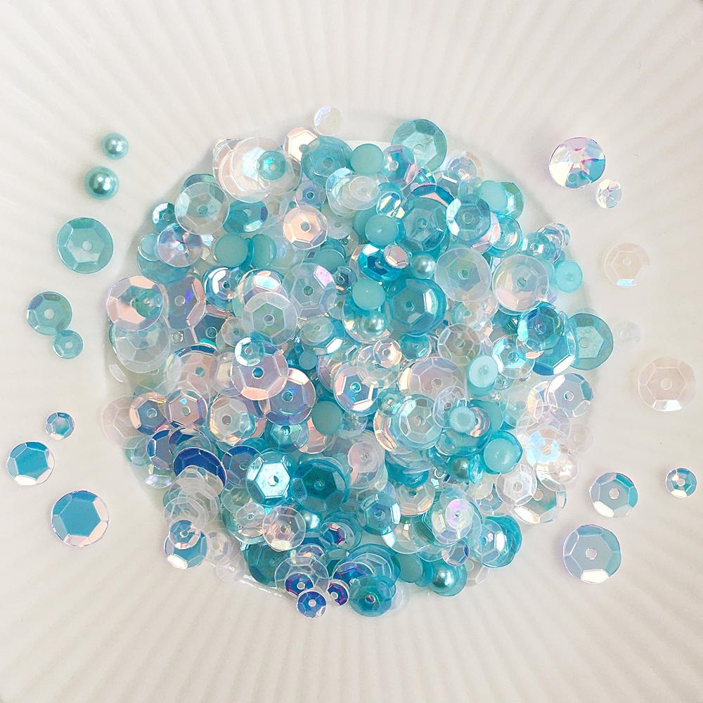 Little Things From Lucy's Cards SHALLOWS Sequin Shaker Mix LBSM68 zoom image