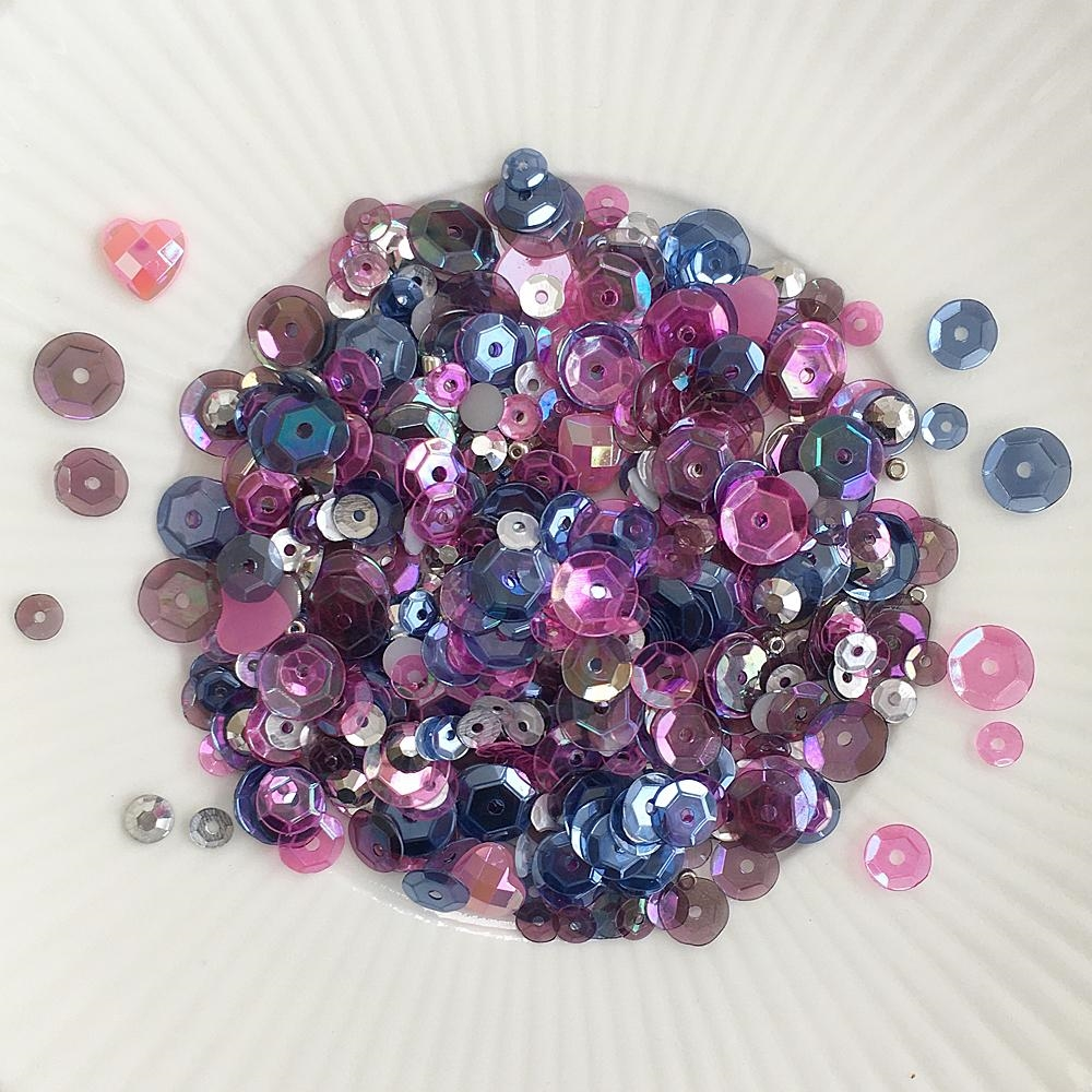 Little Things From Lucy's Cards STARBURST Sequin Shaker Mix LBSM69 zoom image