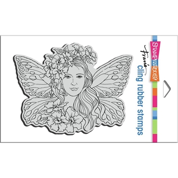 Stampendous Cling Stamp FAIRY WINGS crr336
