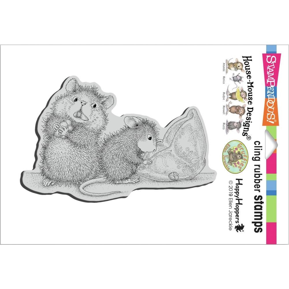 Stampendous Cling Stamp MISSING TREATS hmcp136 House Mouse zoom image