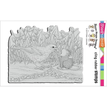 Stampendous Cling Stamp BERRY BIRDIE hmcr146 House Mouse