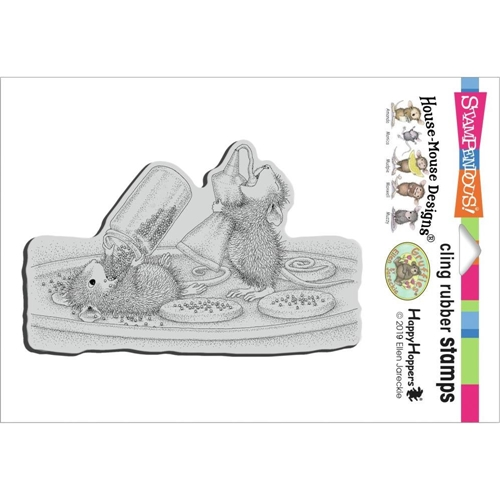 Stampendous Cling Stamp COOKIE SPRINKLES hmcp137 House Mouse Preview Image