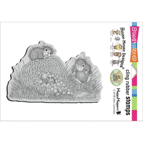 Stampendous Cling Stamp BERRY BASKET hmcp135 House Mouse Preview Image