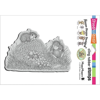 Stampendous Cling Stamp BERRY BASKET hmcp135 House Mouse