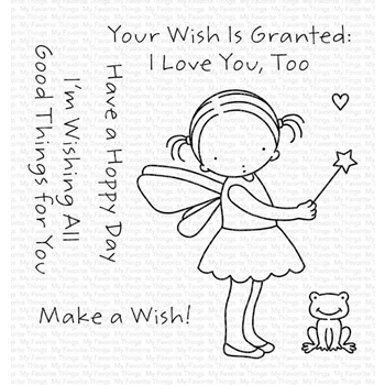 Pure Innocence WISH GRANTED Clear Stamps pi317
