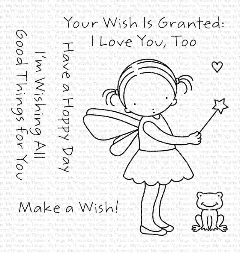 Pure Innocence WISH GRANTED Clear Stamps pi317 zoom image