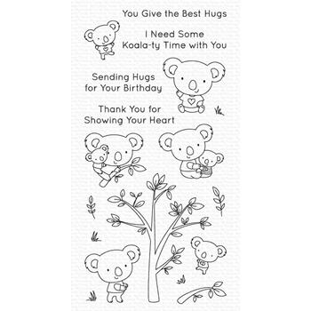 My Favorite Things KOALA-TY TIME Clear Stamps cs536