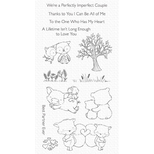 My Favorite Things PERFECT COUPLE Clear Stamps sy28 Preview Image