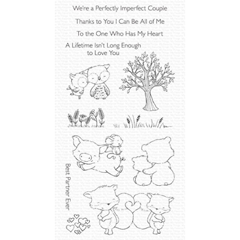 My Favorite Things PERFECT COUPLE Clear Stamps sy28