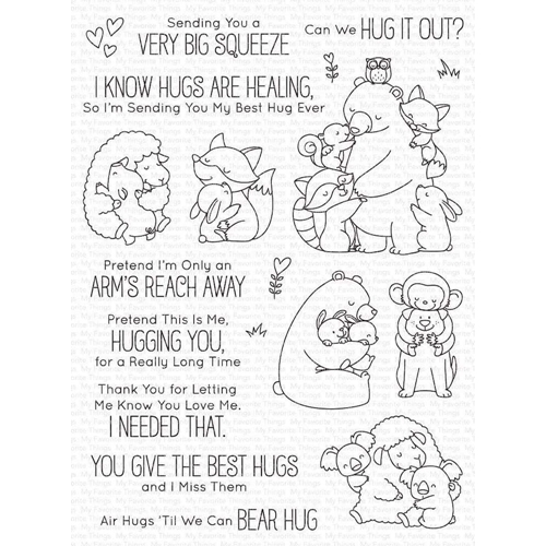 My Favorite Things HUG IT OUT Clear Stamps bb117 Preview Image